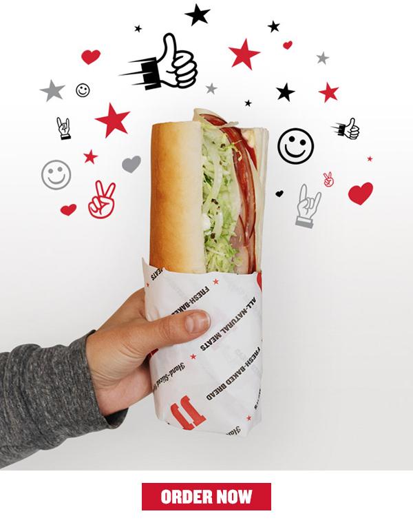 You Earned a Free Sandwich!